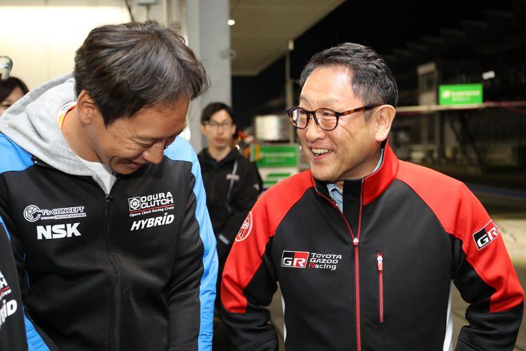 スーパー耐久に再び登場したトヨタ豊田章男社長