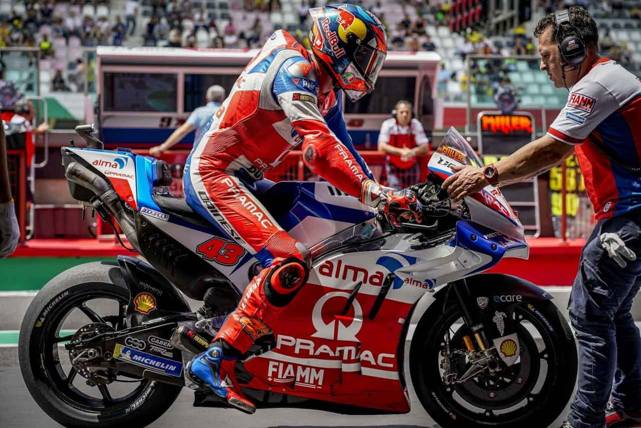 MotoGP:プラマックがランボルギーニ仕様のマシンを公開。イタリアGP決勝で出走