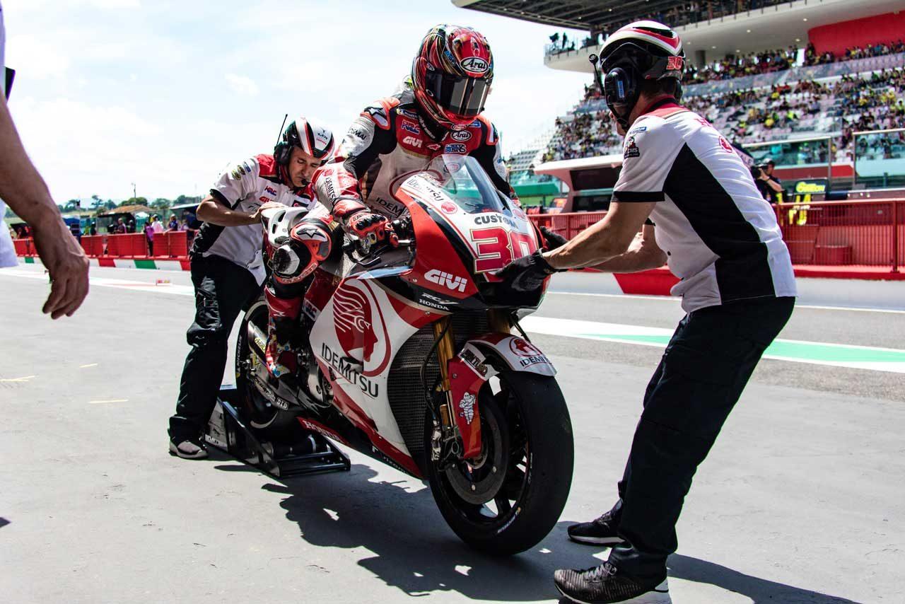 MotoGP:中上、18番手スタートも「レースペースは悪くない」とトップ10フィニッシュを目指す