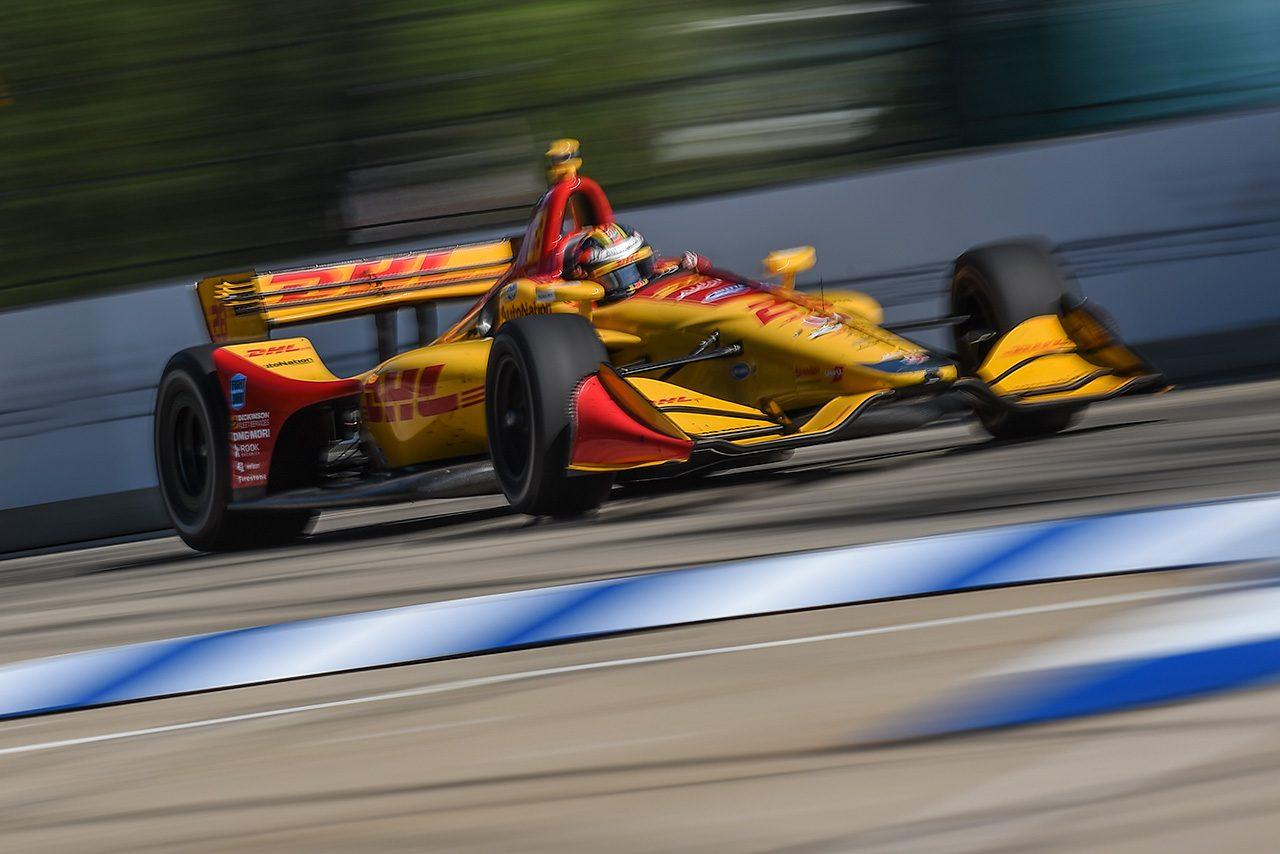【順位結果】インディカー・シリーズ第8戦デトロイト/ハンター-レイが3年ぶりの勝利