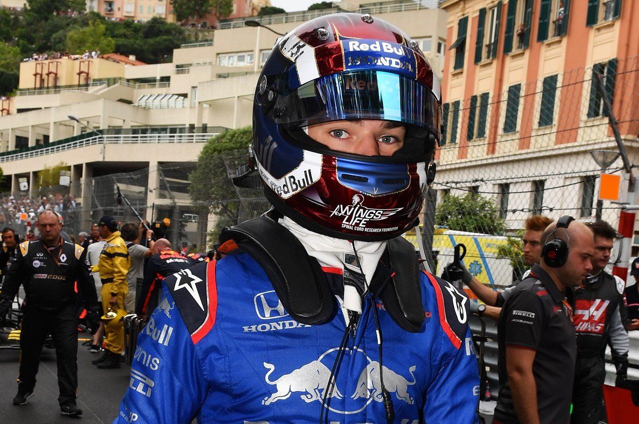 2018年F1第6戦モナコGP ピエール・ガスリー(トロロッソ・ホンダ)