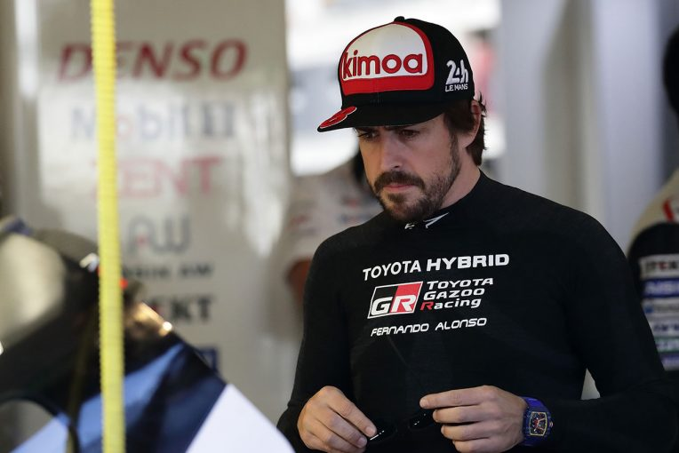 ル・マン/WEC | WEC:ル・マン初制覇に挑むトヨタ、テストデーで202周走破。初走行のアロンソ「とても新鮮」