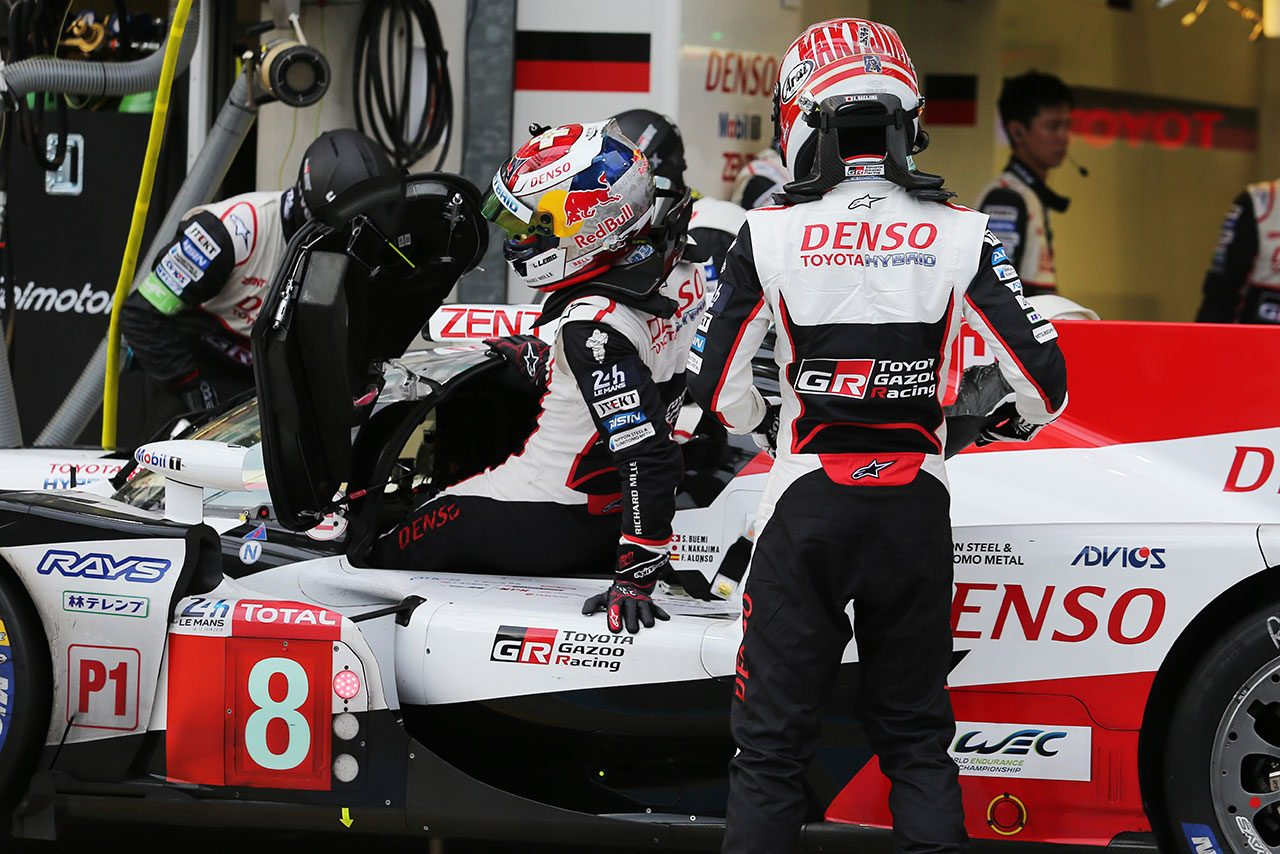 WEC:ル・マン初制覇に挑むトヨタ、テストデーで202周走破。初走行のアロンソ「とても新鮮」