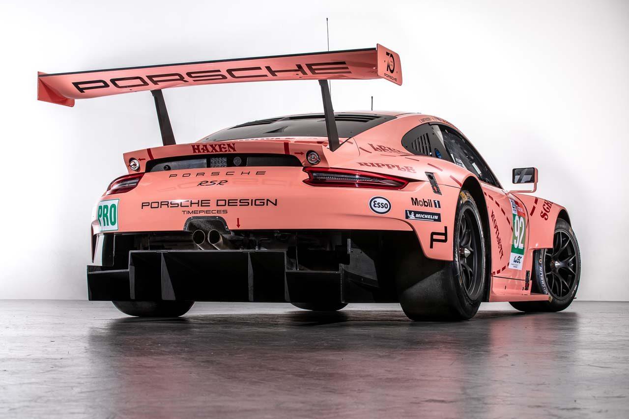 WEC:ポルシェ、往年の名車を再現。復刻カラーの911 RSRがル・マンに登場