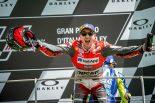 約1年半ぶりに優勝を飾ったロレンソ。ドゥカティでの初勝利だ