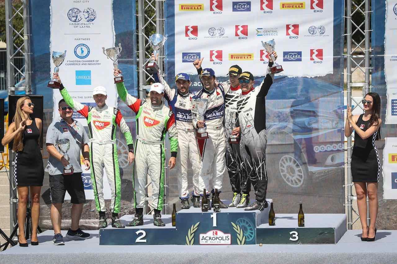 ERC:第3戦アクロポリス・ラリー。伝統に名を刻む、マガラエスが今季初勝利