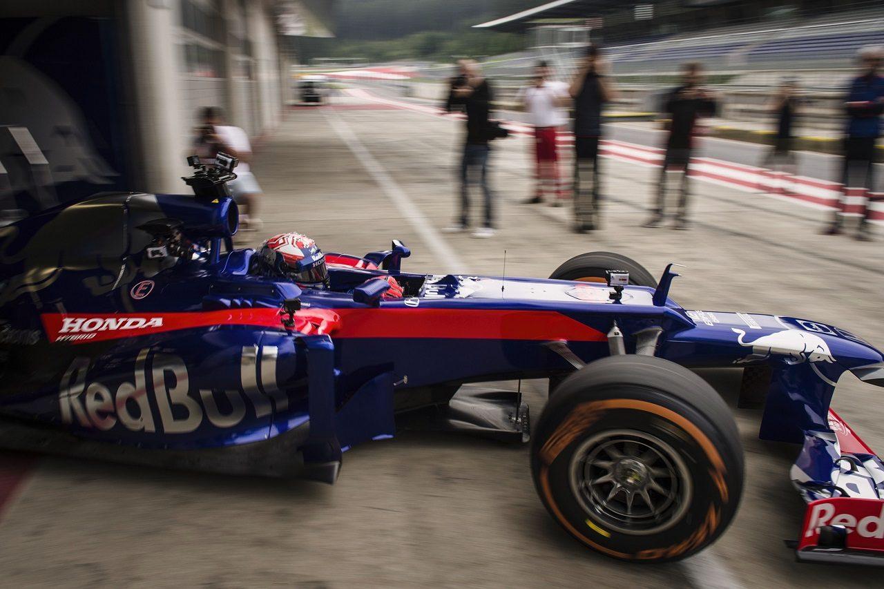マルク・マルケス、F1マシンを初ドライブ