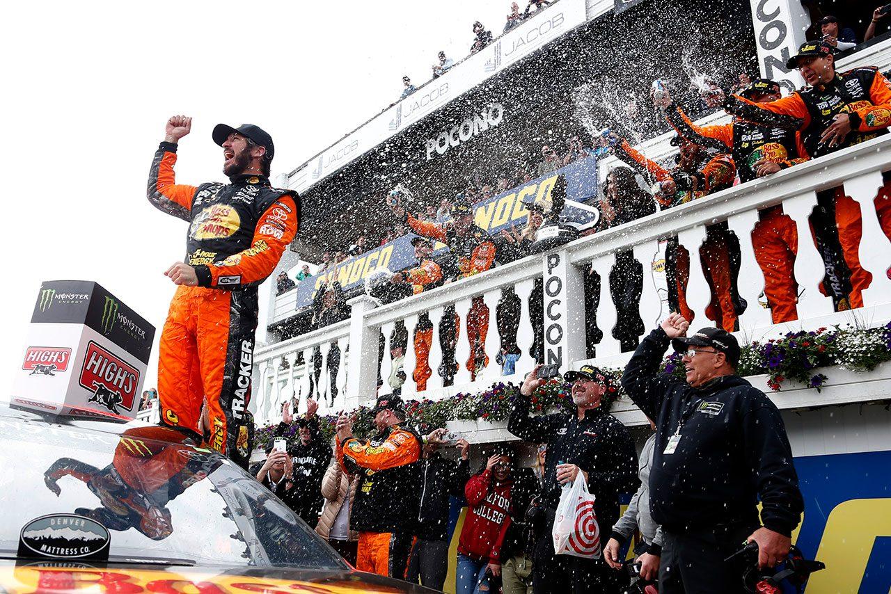 NASCAR第14戦:トゥルーエクスJr.が2018年2勝目。トヨタがランキング首位に返り咲く