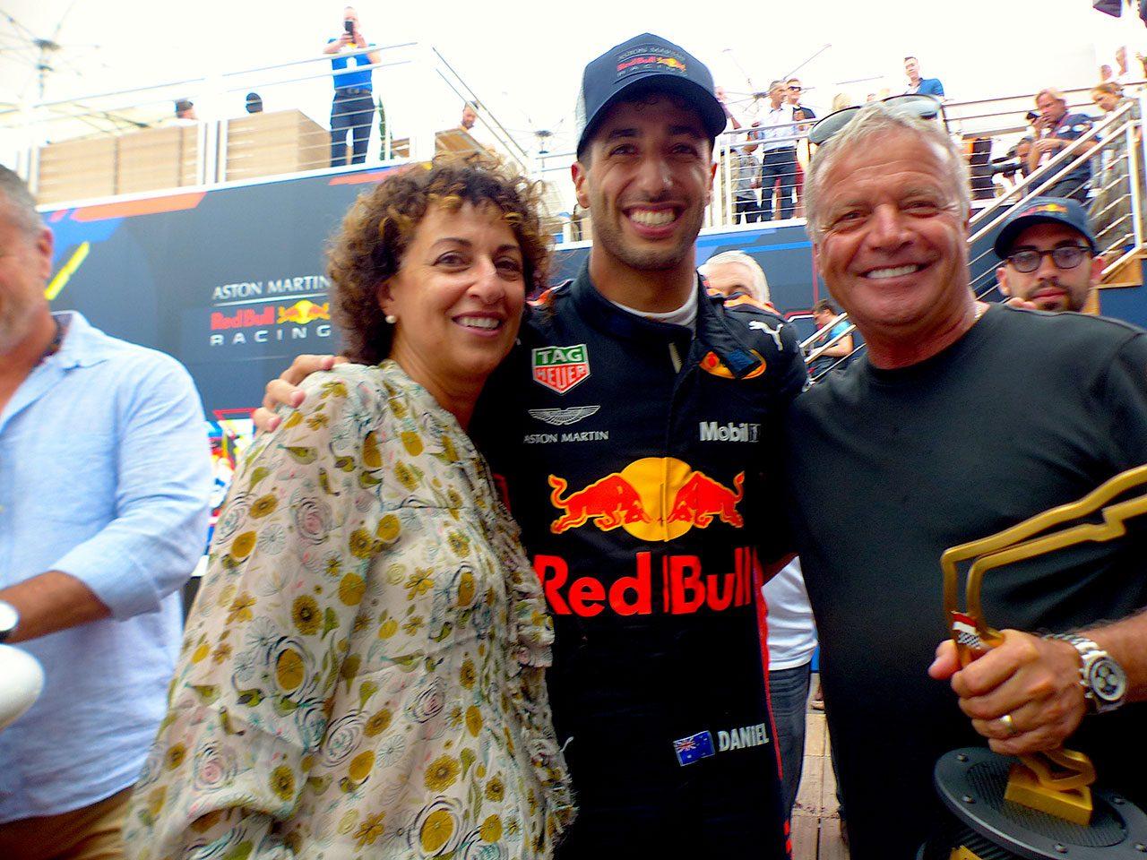F1 Topic:モナコで優勝したリカルドが見せた感無量の涙
