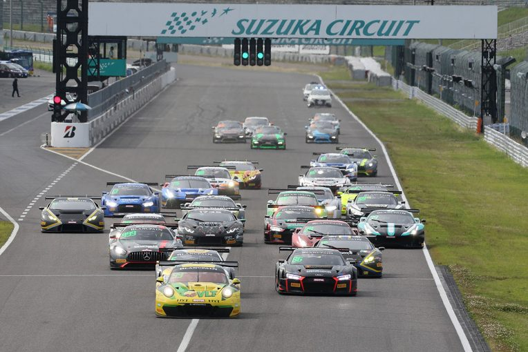 2017 SUZUKA Race of Asia- Blancpain GT Series Asia Race1スタートシーン