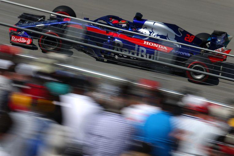 F1   トロロッソ、ホンダの新パワーユニットに好感触「ドライバリティがとてもよく、問題も見当たらなかった」:F1カナダGP金曜
