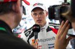 ラリー/WRC | マシントラブルでリタイアしたタナク「何が起きたか説明できない」/WRC第7戦イタリア デイ2後コメント