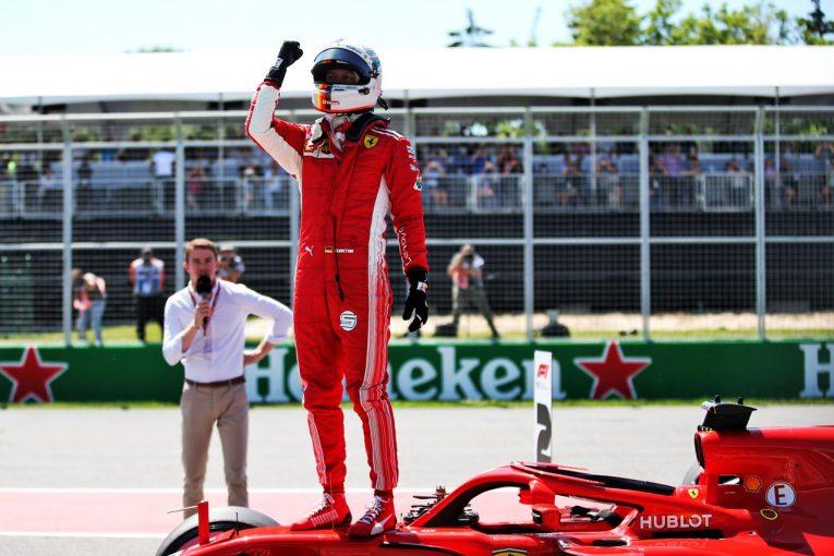 F1   【順位結果】F1第7戦カナダGP予選