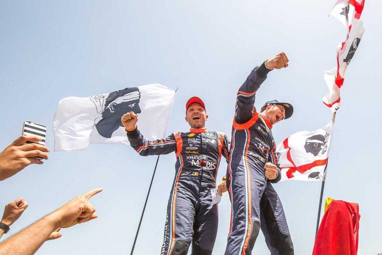 ラリー/WRC | WRC第7戦:ヌービル、0.7秒差で王者オジエを逆転しイタリア戦制覇。トヨタが3位表彰台