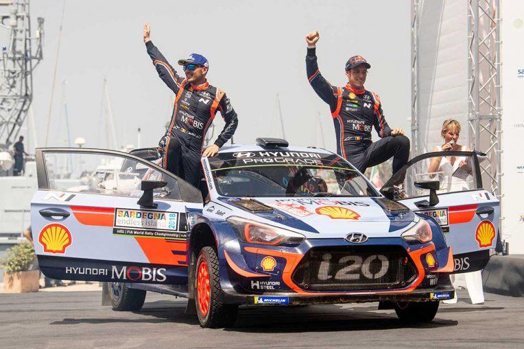 ラリー/WRC | 【順位結果】WRC第7戦イタリア 暫定総合