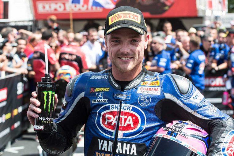 MotoGP | SBK第7戦レース2:ロウズがSBK初優勝、ヤマハがワン・ツーで表彰台占める。レイは転倒リタイア