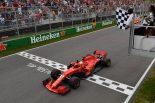 2018年F1第7戦カナダGP セバスチャン・ベッテルが優勝を飾る