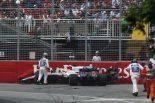 F1   【動画】ハートレーとストロール、1周目にクラッシュを喫しリタイア/F1カナダGP決勝