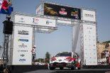 ラリー・イタリア・サルディニアで総合3位表彰台を獲得したエサペッカ・ラッピ(トヨタ・ヤリスWRC)