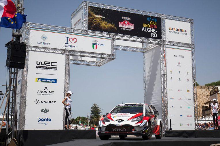 ラリー/WRC   WRC:トヨタ、若手ラッピが3位、全車ポイント獲得も「完全には満足していない」とマキネン代表