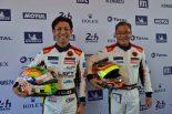 クリアウォーター・レーシングの澤圭太とオーナードライバーのウェン-サン・モク