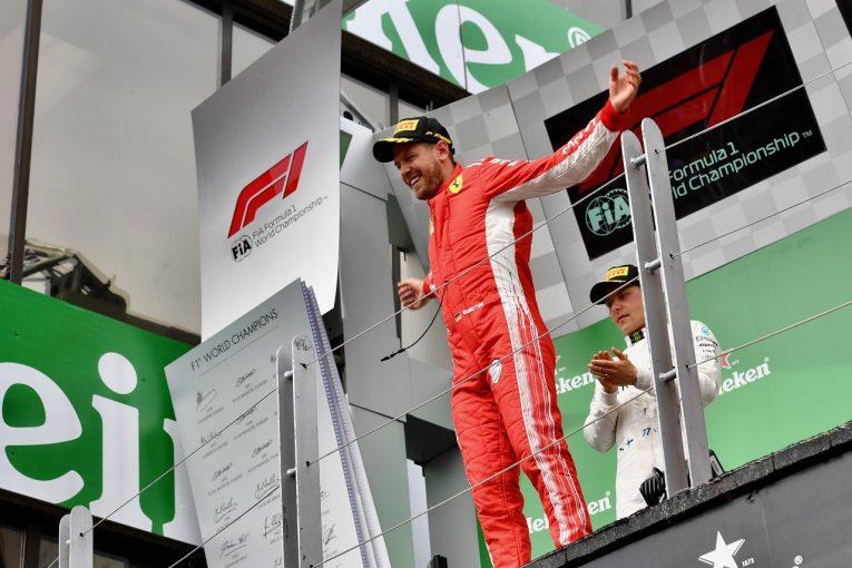 F1 | ベッテルが50勝目「パワーユニットのアップデートが大きな勝因」:F1カナダGP日曜