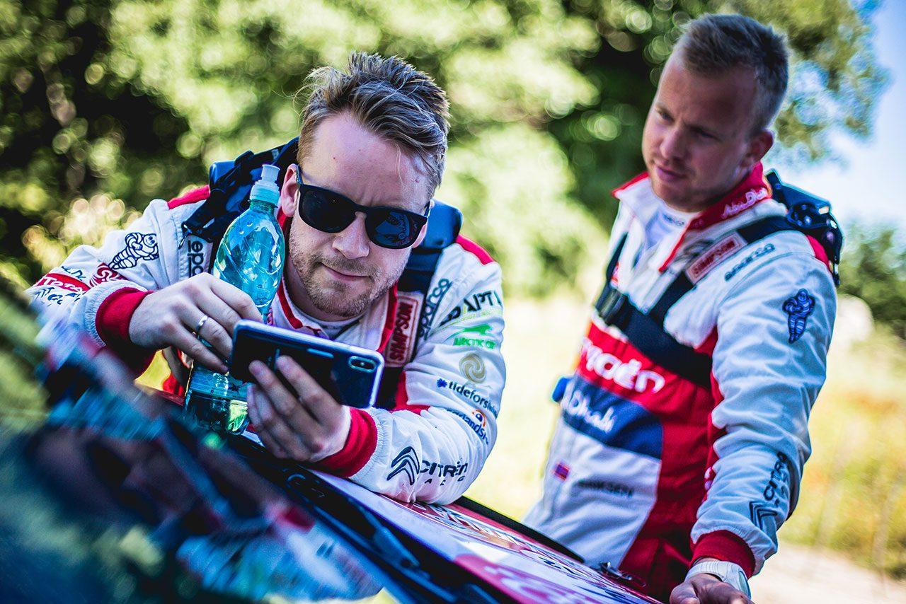タナク「困難を乗り越えることで我々はより強くなれる」/WRC第7戦イタリア デイ4後コメント