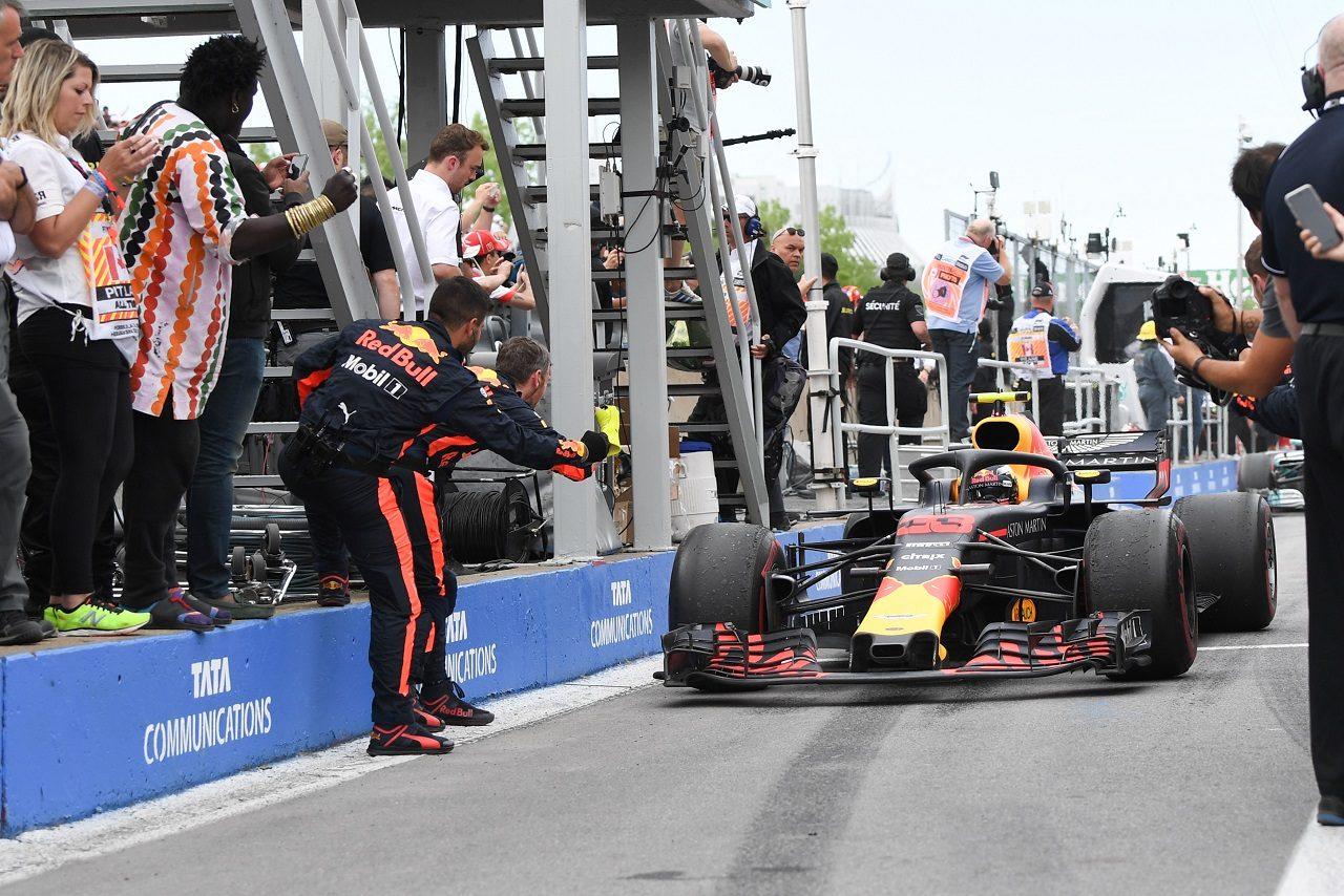 2018年F1第7戦カナダGP マックス・フェルスタッペン(レッドブル)