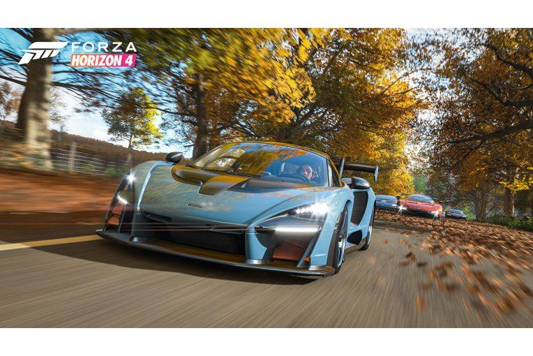 『Forza Horizon 4』のパッケージにも登場するマクラーレン・セナ
