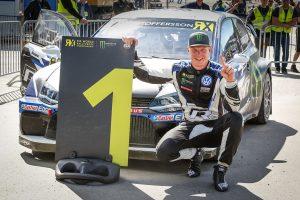 シーズン4勝目を上げたヨハン・クリストファーソン(フォルクスワーゲン・ポロR スーパーカー)