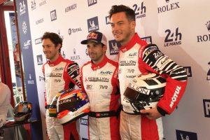 1号車レベリオンR13・ギブソンを駆るアンドレ・ロッテラー、ニール・ジャニ、ブルーノ・セナ