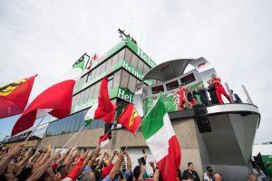 2018年F1第7戦カナダGP 表彰式