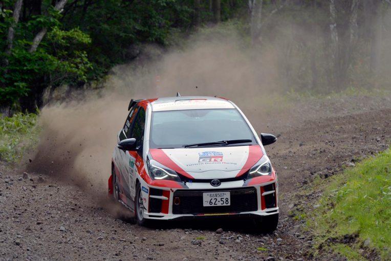 ラリー/WRC   全日本ラリー:「進化の早さに驚き」。前戦のトラブルを克服したトヨタが2戦ぶりの表彰台