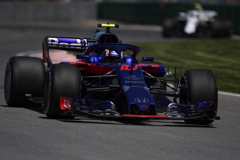 F1 | 【F1カナダGP 無線レビュー】ガスリーが8ポジションアップ。手応えを掴んだトロロッソ・ホンダ