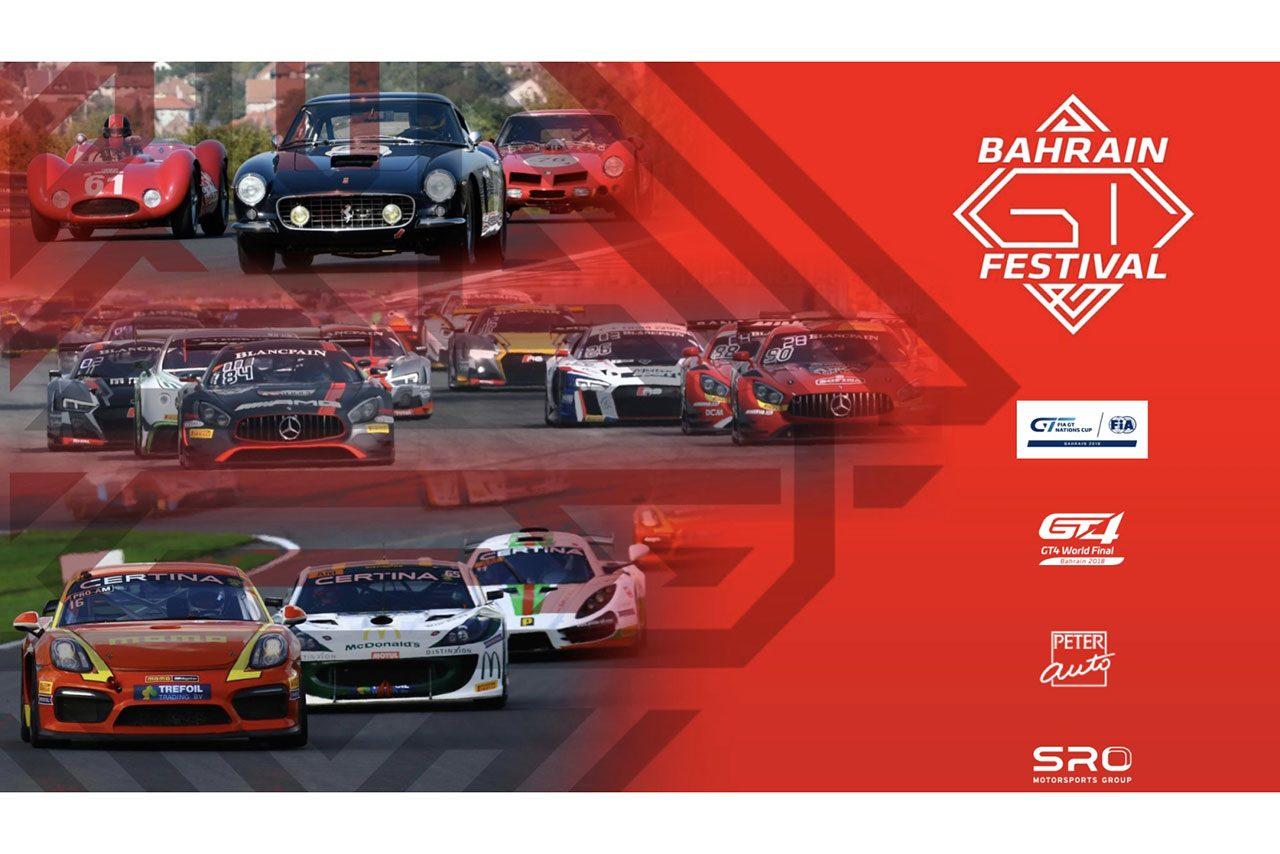 GT3とGT4の頂点を決める2日間。11月30~12月1日に『バーレーンGTフェスティバル』開催へ