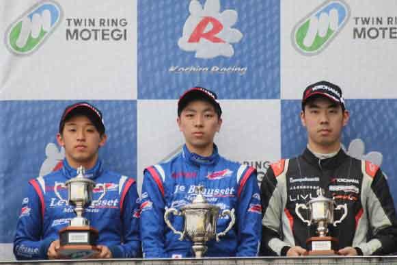 Le Beausset Motorsports スーパーFJ第3戦もてぎ レースレポート