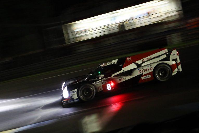 ル・マン/WEC | ル・マン24時間:予選1回目もトヨタがワン・ツー。決勝も照準に入れ走行重ねる