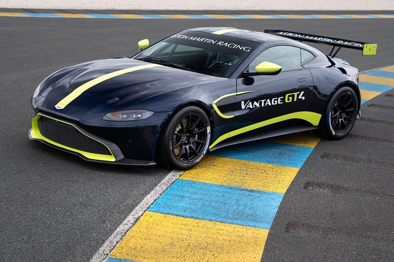 アストンマーチン、ル・マンで新型バンテージGT3&GT4を公開。19年3月の公認目指す
