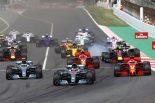 2018年F1スペインGPスタート