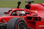 2018年F1カナダGPでのウィニングラン フェラーリ セバスチャン・ベッテル