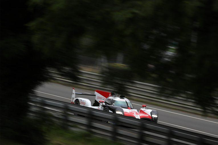 ル・マン/WEC | ル・マン24時間:ウォームアップはふたたびトヨタがワン・ツー。ライバルとの差は4秒