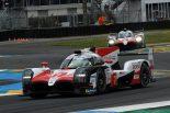 ル・マン24時間スタート! 序盤から2台のトヨタが初勝利に向け大量リード築く