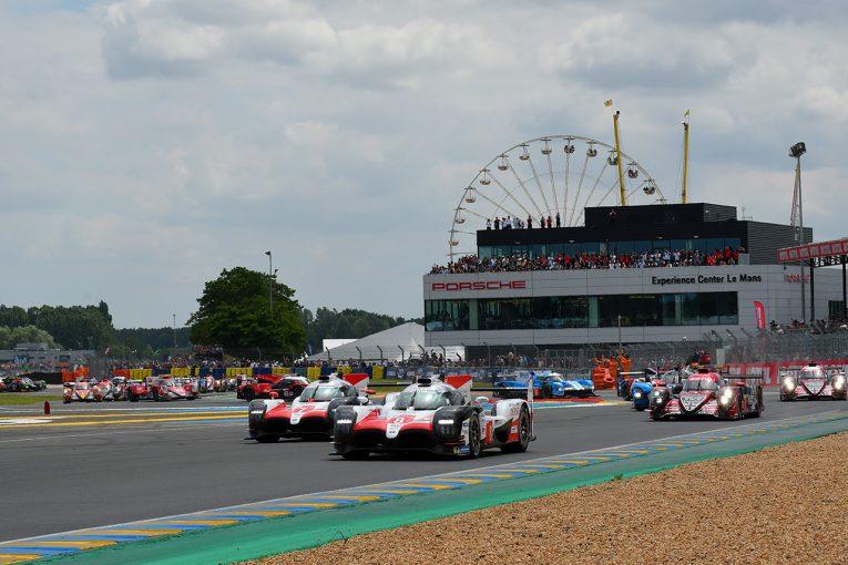 ル・マン/WEC | ル・マン24時間スタート! 序盤から2台のトヨタが初勝利に向け大量リード築く