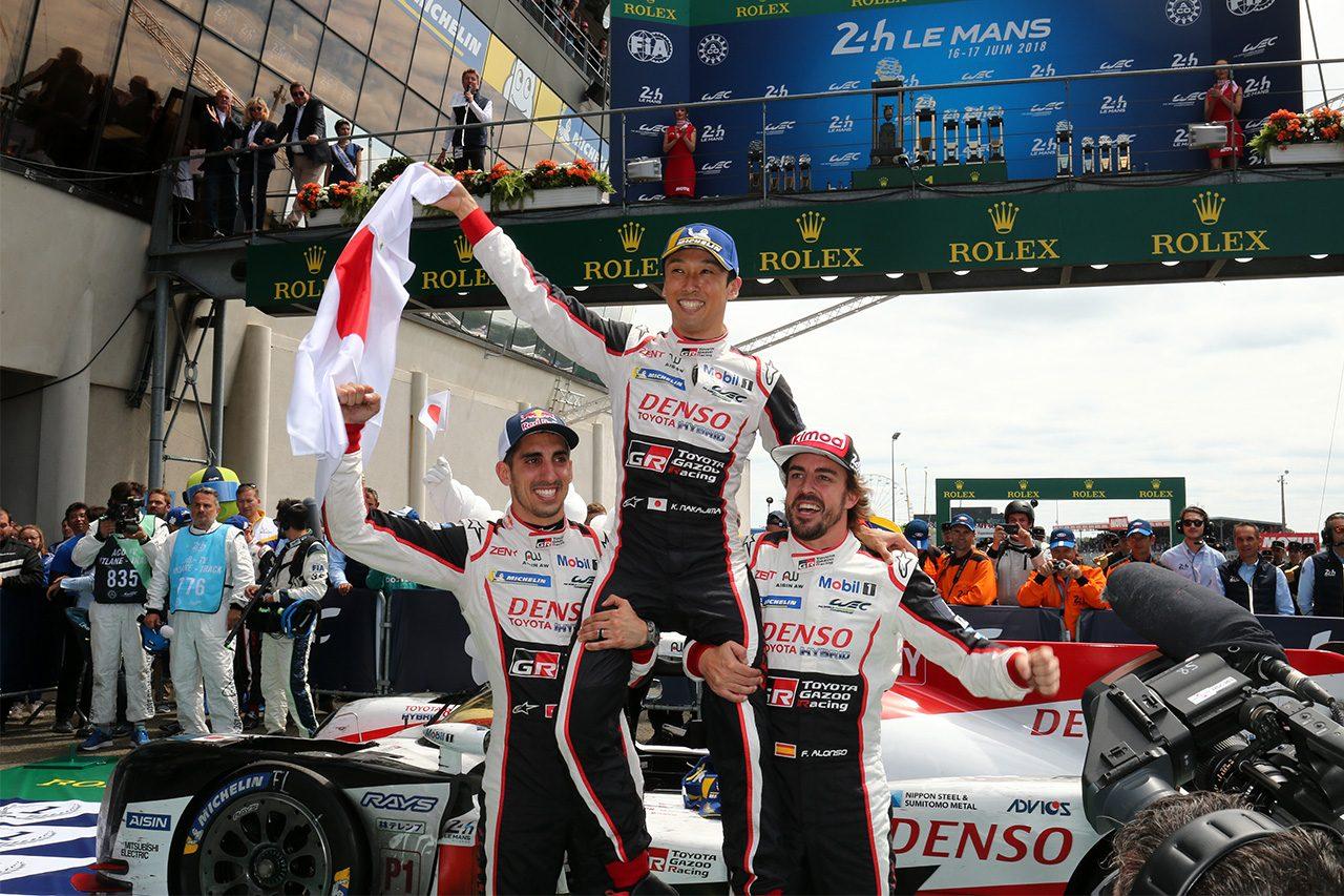 トヨタ、ついに悲願のル・マン24時間初優勝! 中嶋一貴が日本車+日本人での初制覇を達成