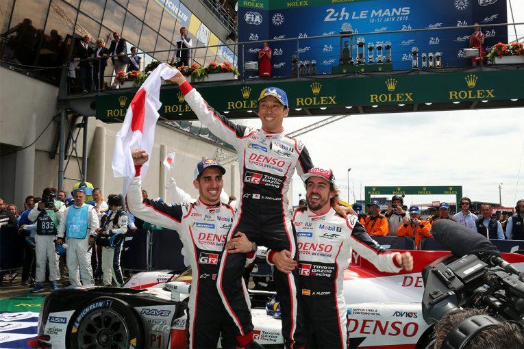 ル・マン/WEC | トヨタ、ついに悲願のル・マン24時間初優勝! 中嶋一貴が日本車+日本人での初制覇を達成