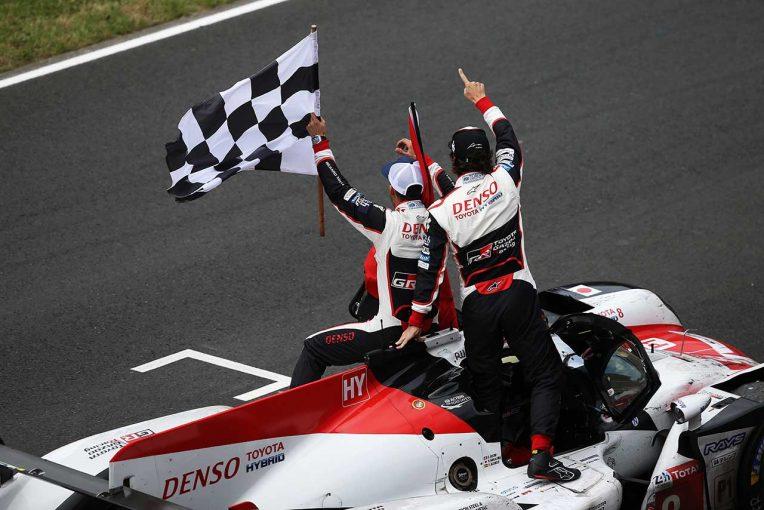 第86回ル・マン24時間耐久レースを制した8号車トヨタTS050ハイブリッド
