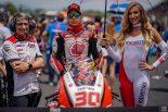 MotoGP | MotoGP:中上、最高峰クラス昇格後初の転倒リタイア。「フロントのフィーリングがいまひとつだった」