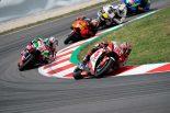 MotoGP:中上、最高峰クラス昇格後初の転倒リタイア。「フロントのフィーリングがいまひとつだった」