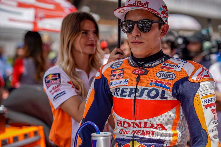 MotoGP | MotoGP:マルケス「表彰台獲得はいい結果」とカタルーニャでの2位入賞に満足