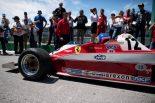 F1第7戦カナダGP ジャック・ビルヌーブがフェラーリ312T3のデモラン